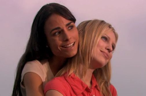 Jordana Brewster and Sara Foster -